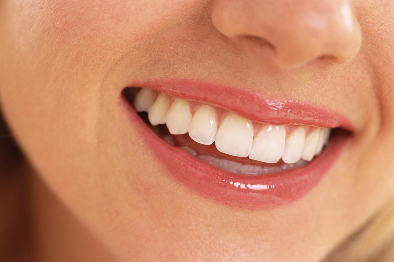 sal yodada, dientes sanos